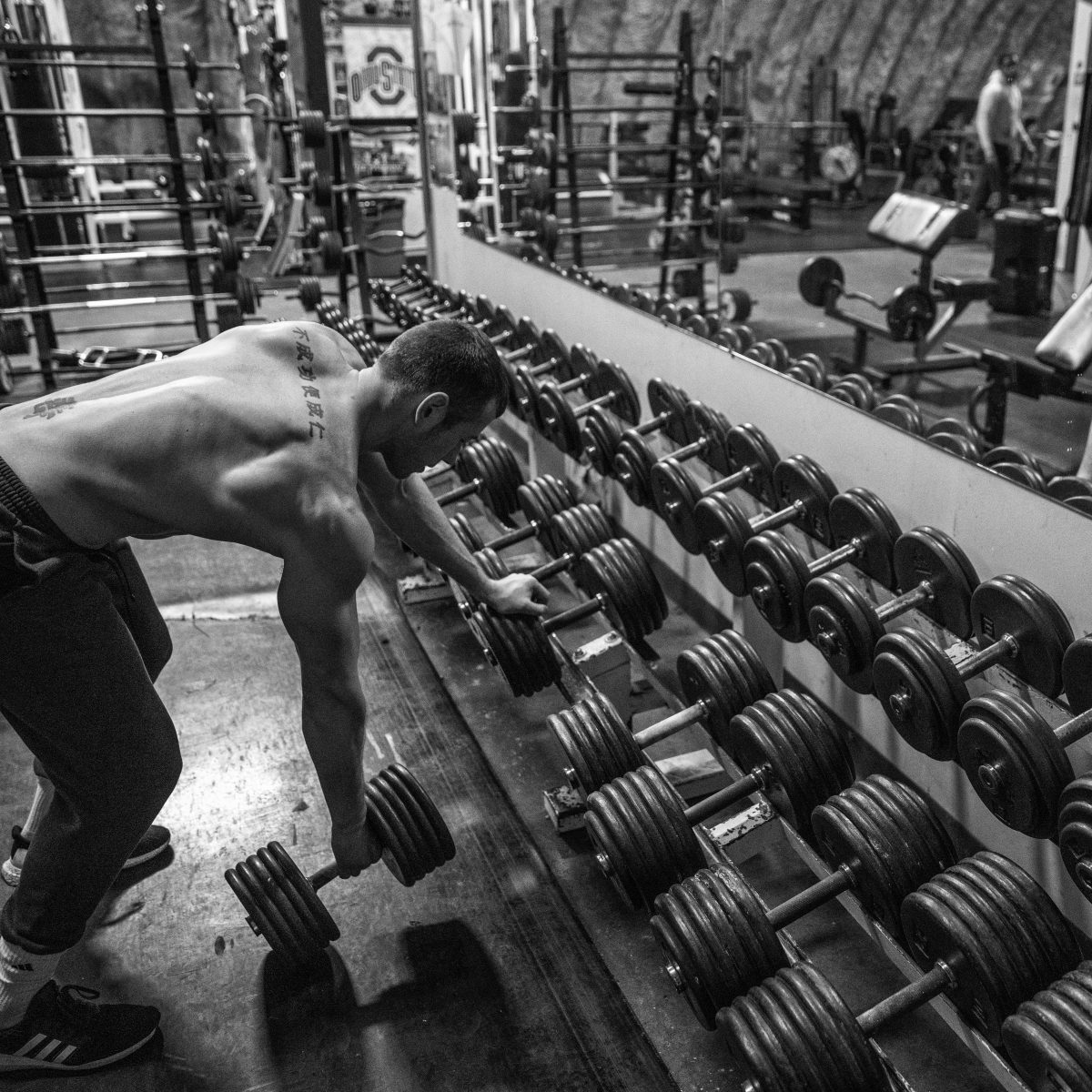 Coach Myers row workout