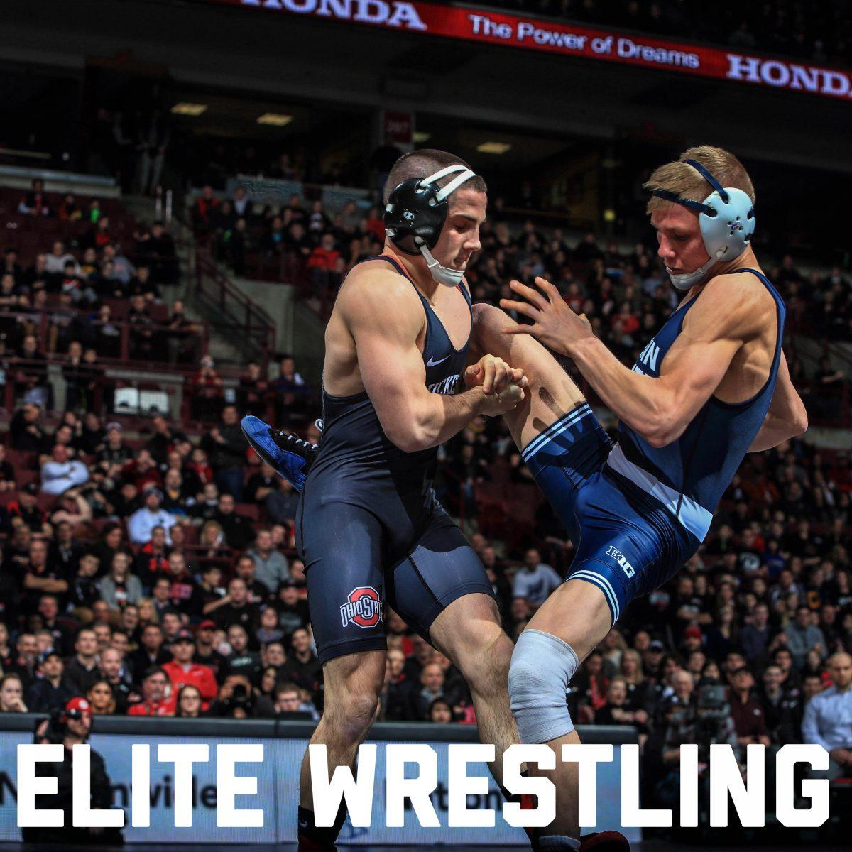 Nathan Tomasello wrestling