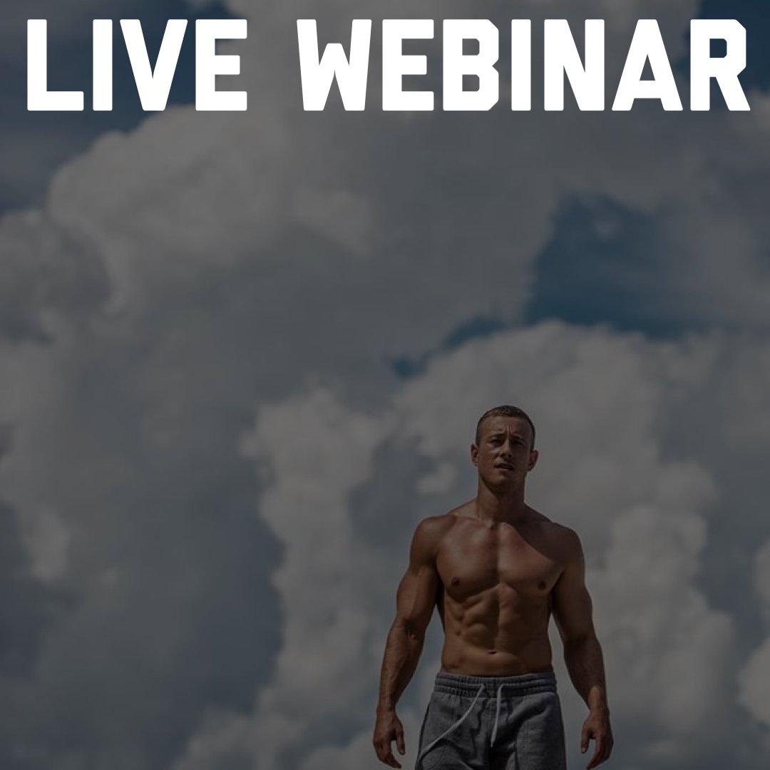 live webinar by Coach Myers